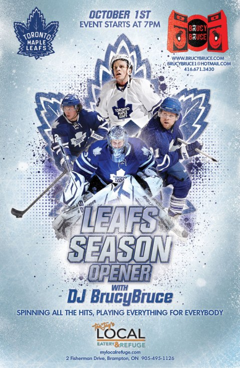 LEAFS SEASON OPEN